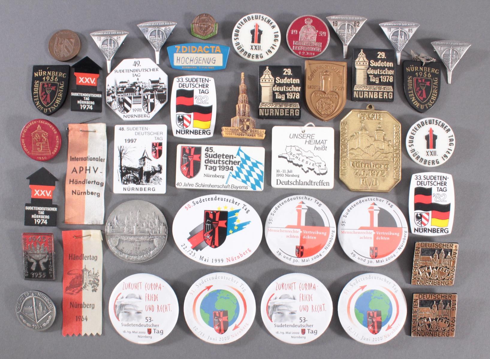 41 Tagungs- und Veranstaltungsabzeichen Nürnberg