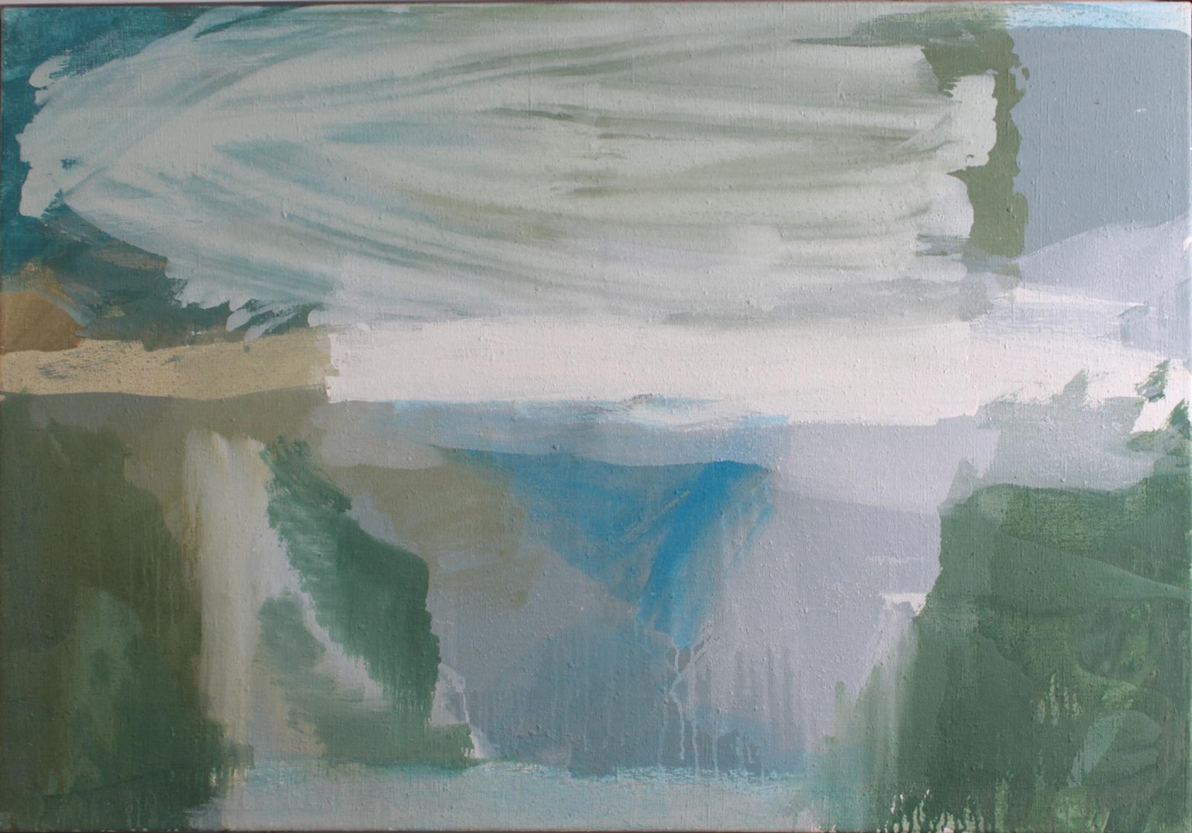 Lutz Wolf 1943 – 1997, Landschaft Grezzo-2