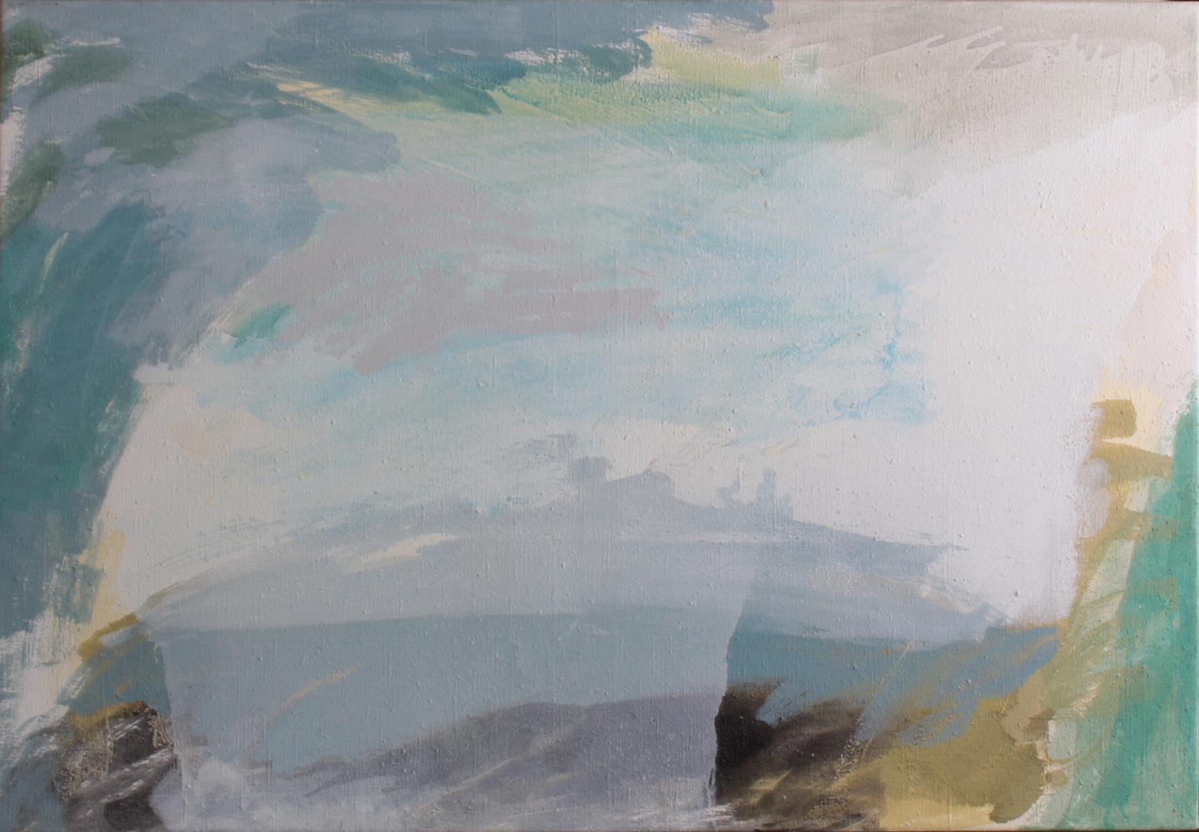 Lutz Wolf 1943 – 1997, Landschaft Grezzo III-2