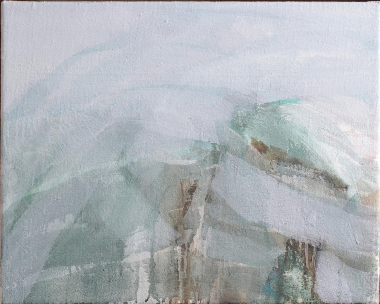Lutz Wolf 1943 – 1997,  Landschaft 11 – 87-2