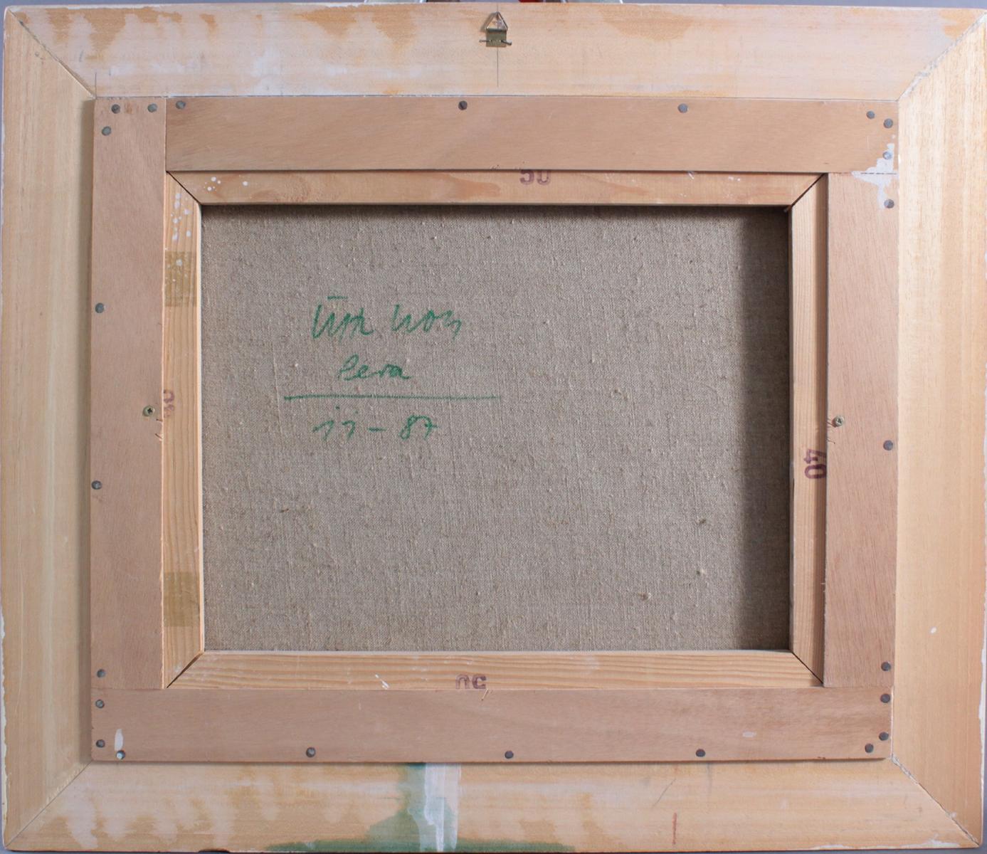 Lutz Wolf 1943 – 1997,  Landschaft 11 – 87-3