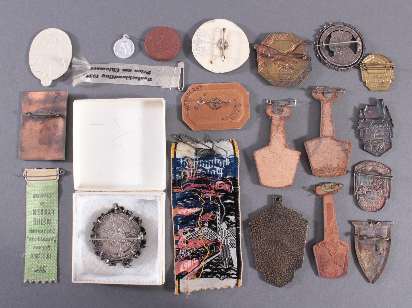 20 Tagungs- und Veranstaltungsabzeichen, Medaillen, Memorabilia-2