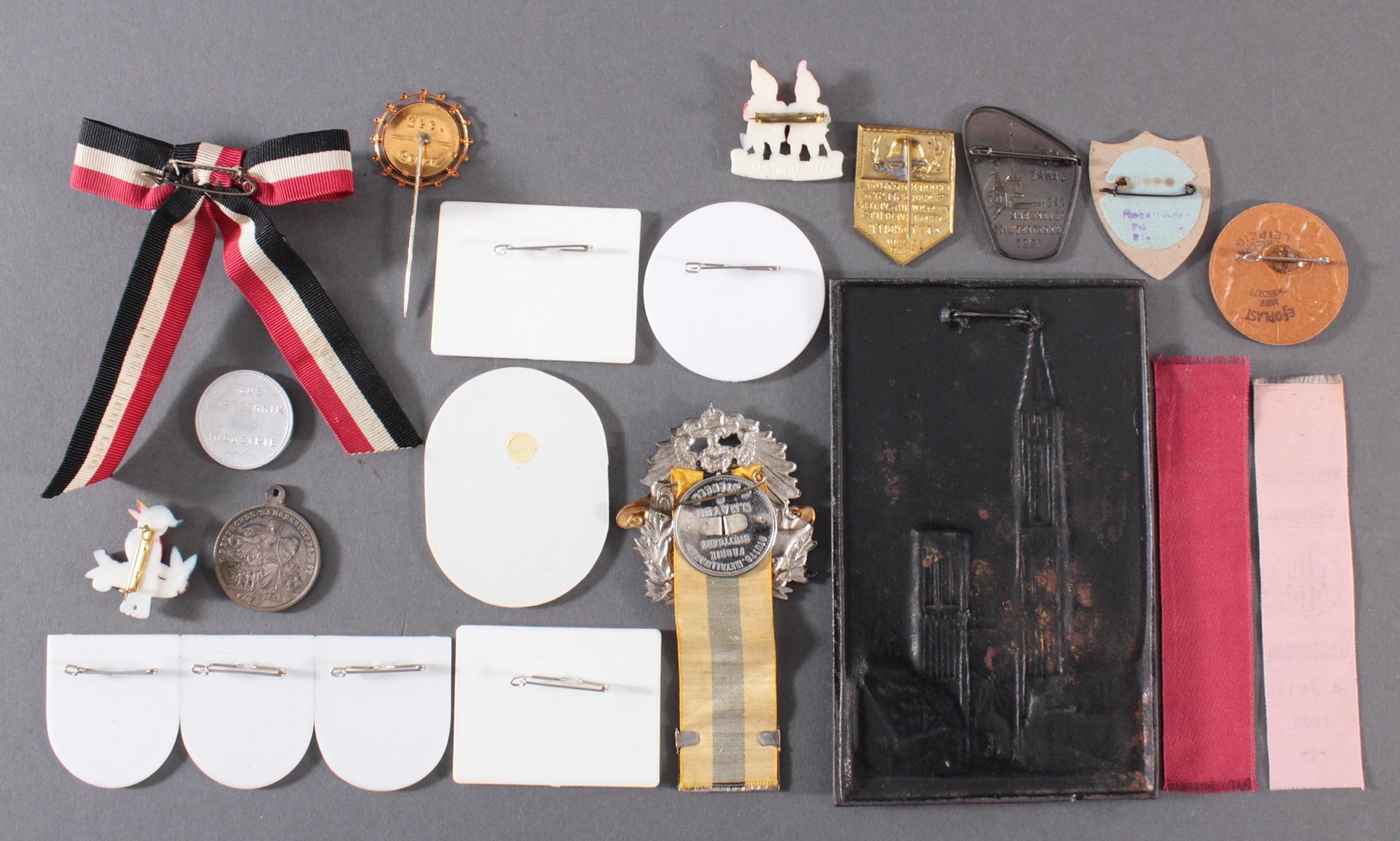 20 Tagungs- und Veranstaltungsabzeichen, Memorabilia-2