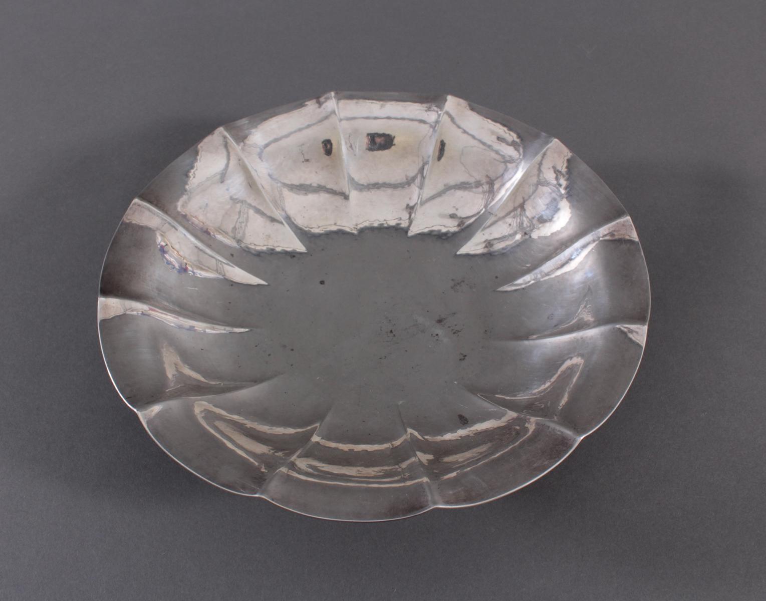Anbietschale, 800er Silber, punziert  WTB-2