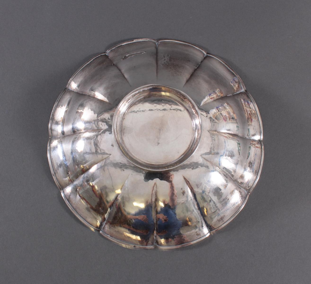Anbietschale, 800er Silber, punziert  WTB-3