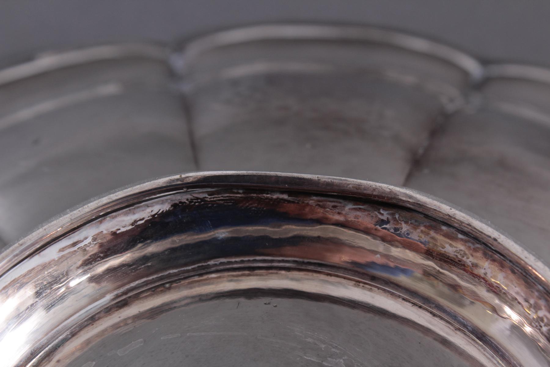 Anbietschale, 800er Silber, punziert  WTB-4