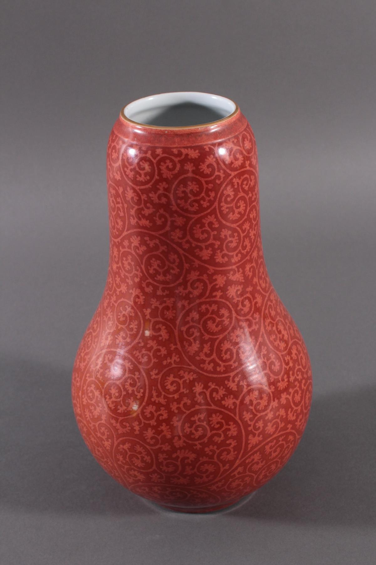 Große Porzellanvase, China Qing-Dynastie-2