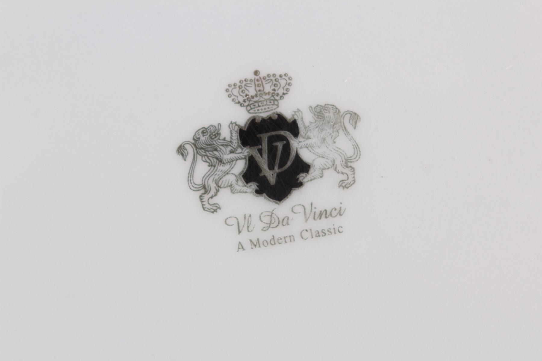 Großes Tafelservice. Da Vinci Collection – 'Nero' Black-Gold – Limited Edition-3