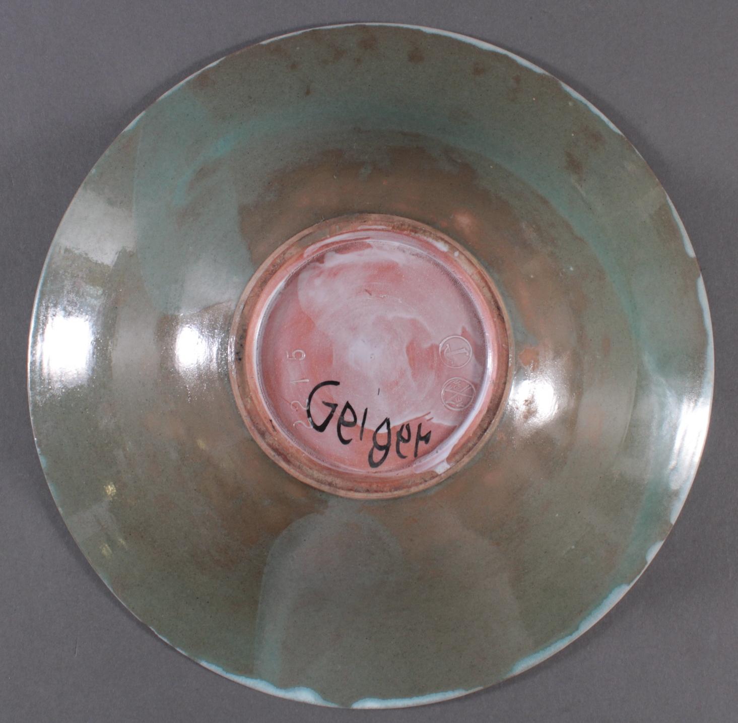 Benno Geiger (Engelberg 1903 – 1979 Bern), Keramikschale-3