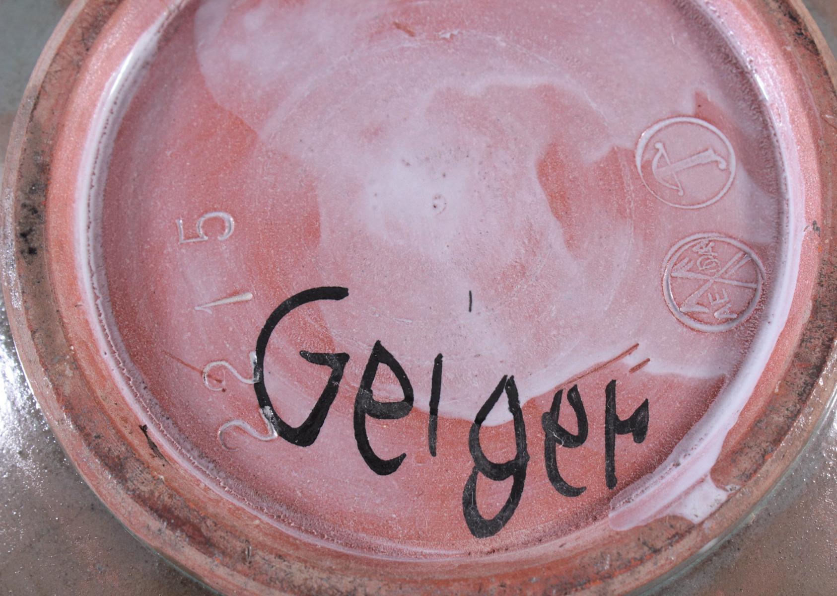 Benno Geiger (Engelberg 1903 – 1979 Bern), Keramikschale-9