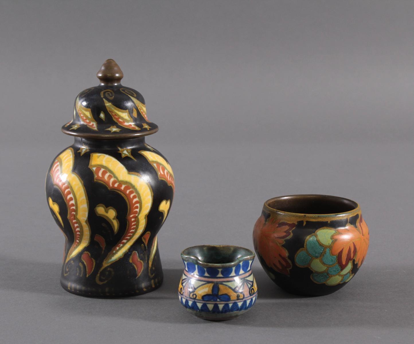 Drei Gouda Keramik, Holland-2