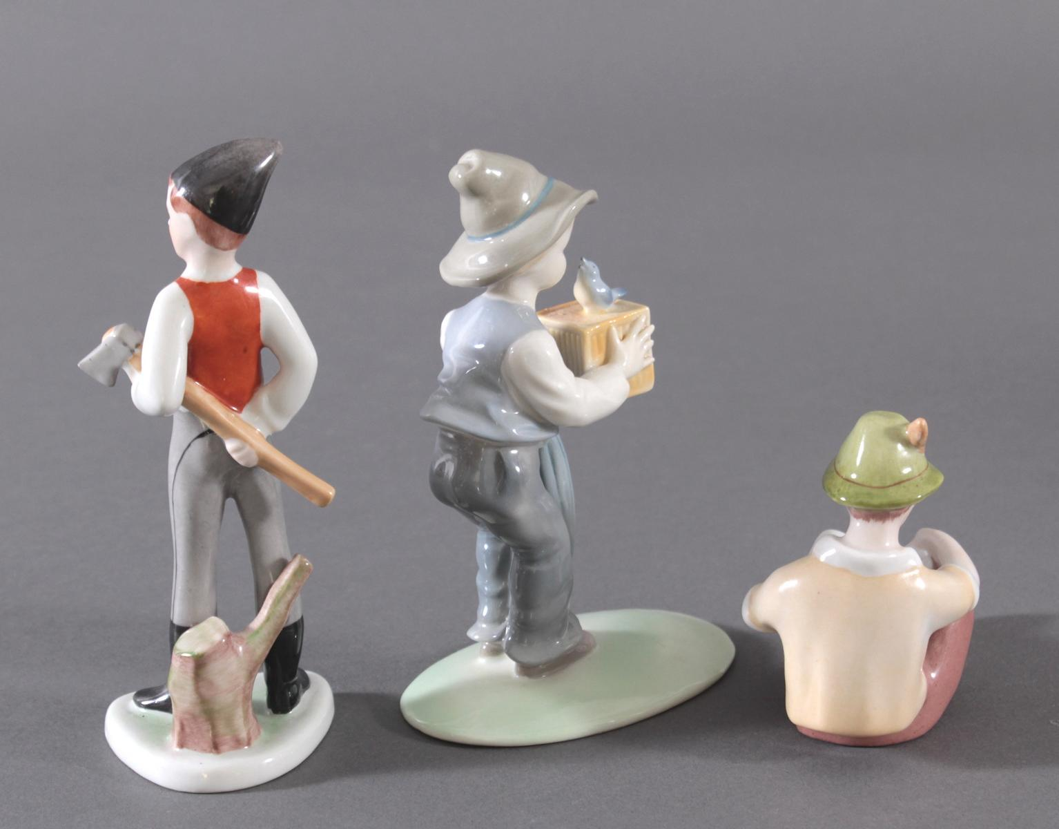 3 Porzellan-Figuren unterschiedliche Hersteller-2