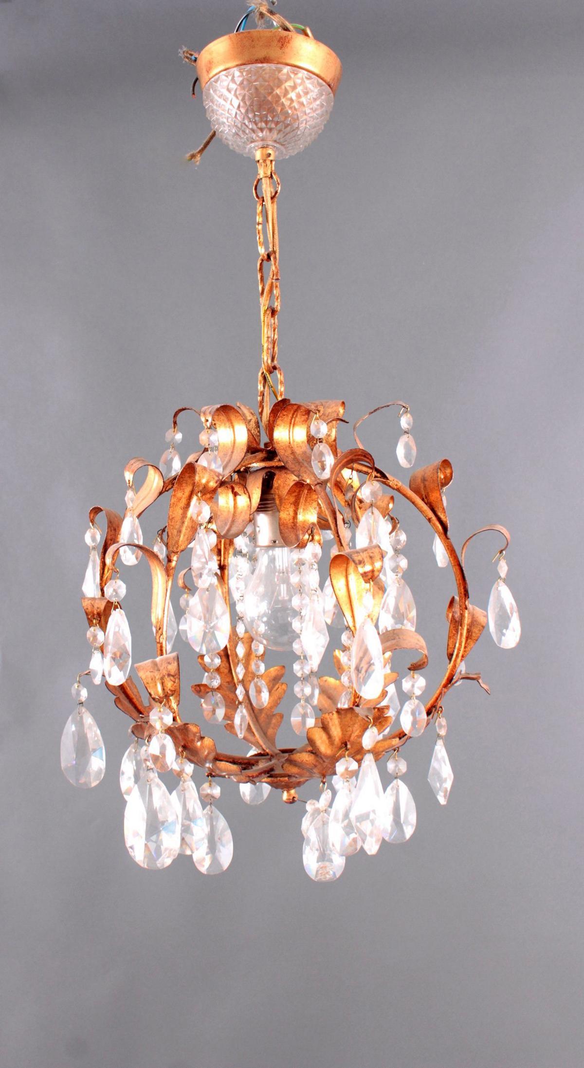 Kristall-Lampe