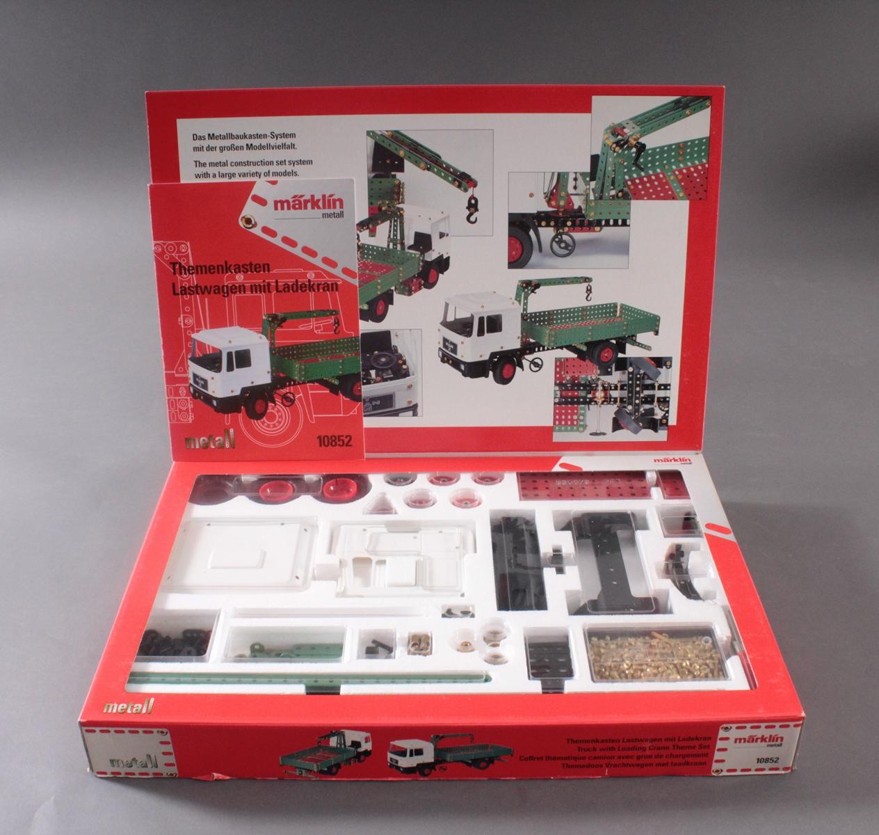 Märklin 10852 Themenkasten Lastwagen mit Ladekran