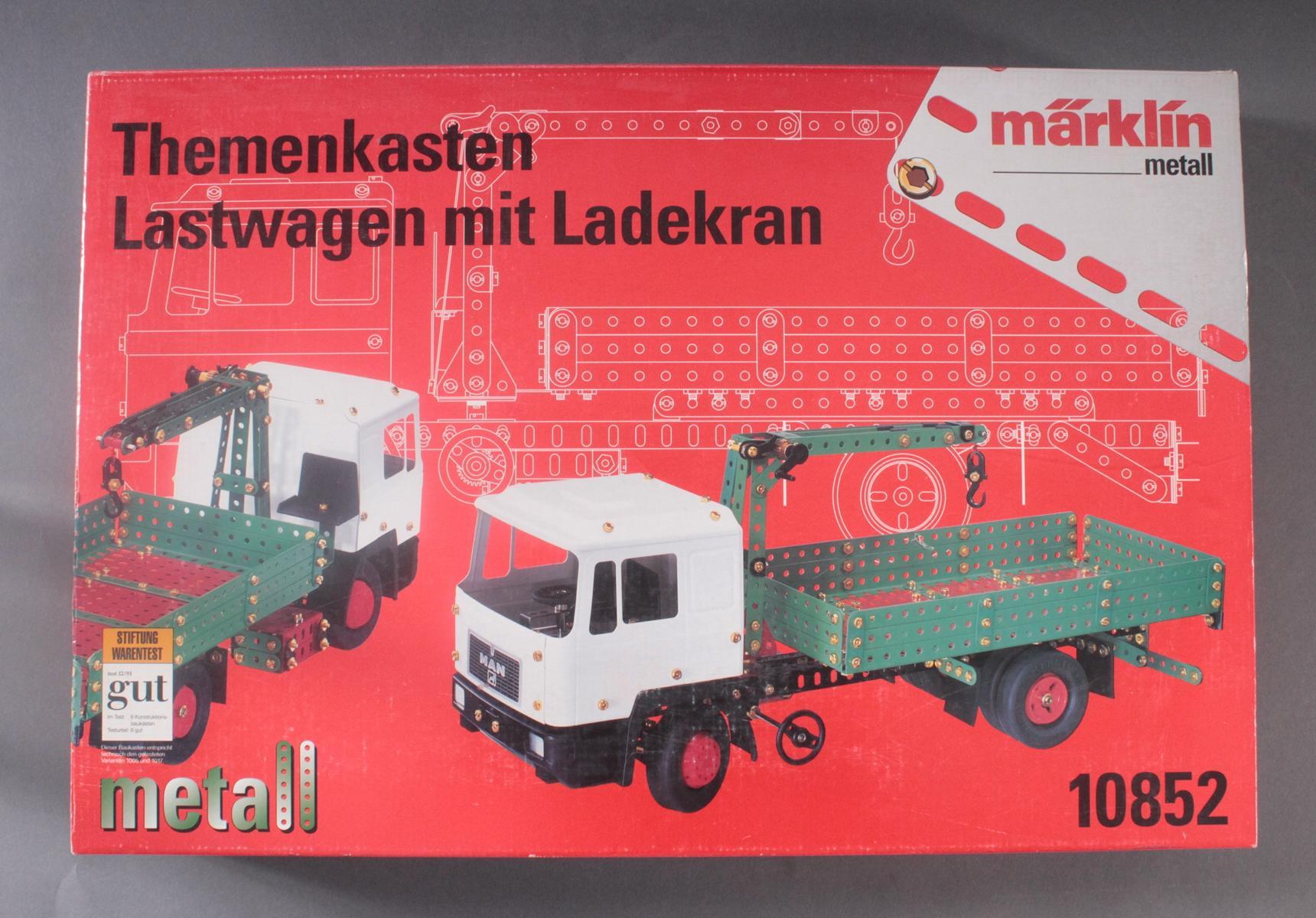 Märklin 10852 Themenkasten Lastwagen mit Ladekran-3