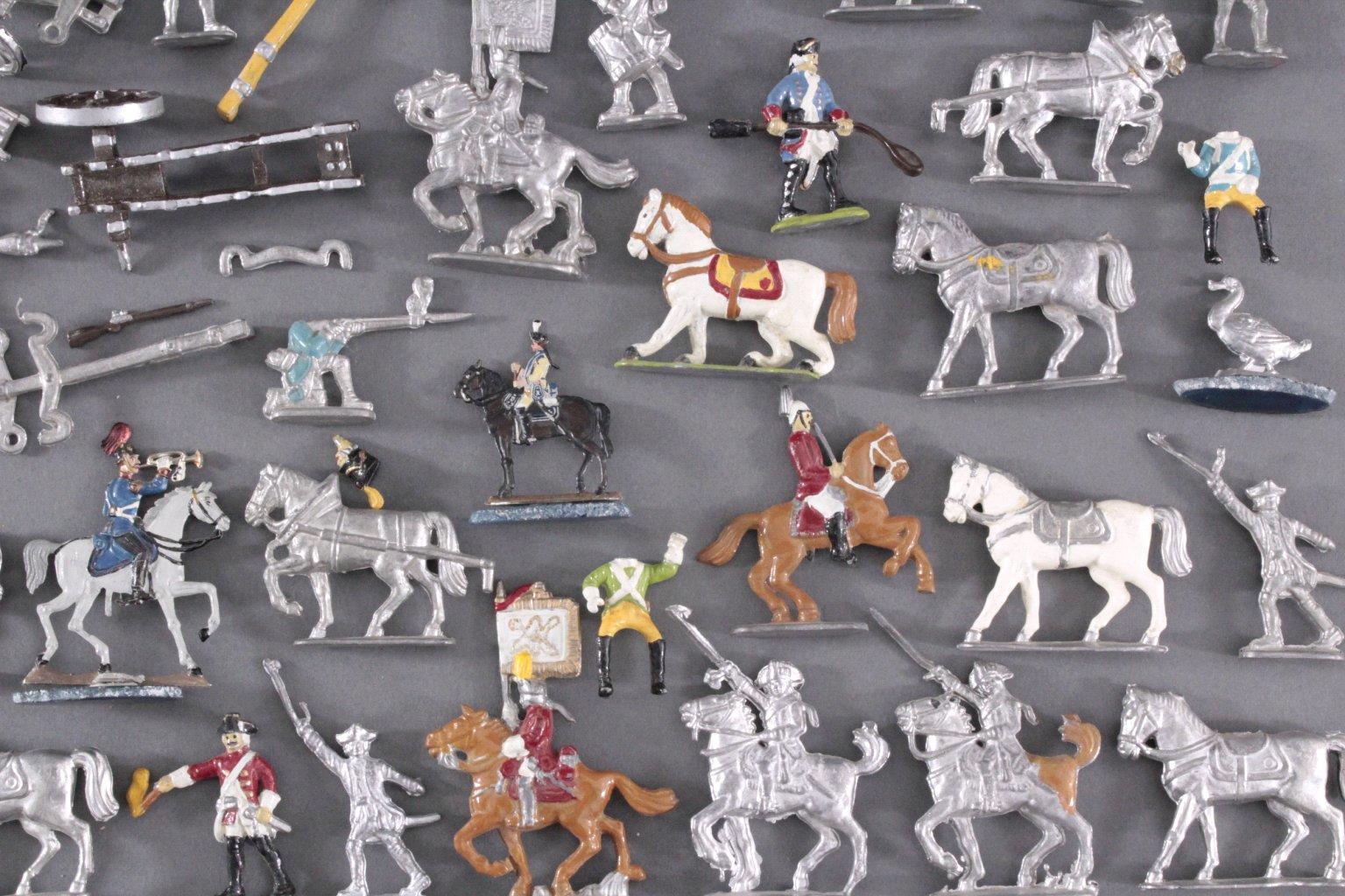 Sammlung Zinnfiguren, weit über 60 Stück-5