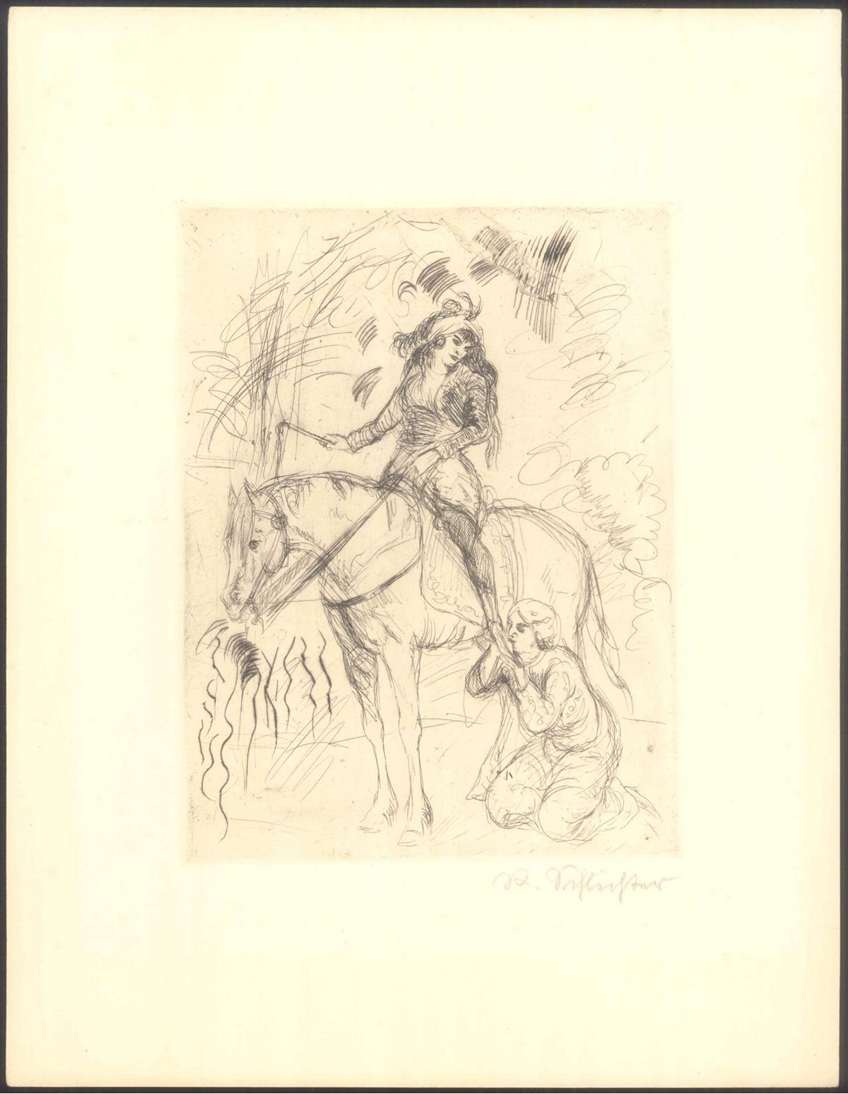 Rudolf Schlichter (1890-1955). Die Angebetete-2