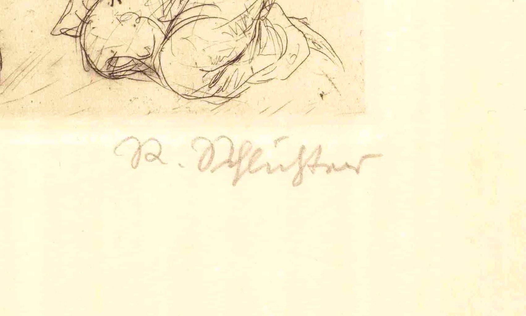 Rudolf Schlichter (1890-1955). Die Angebetete-3