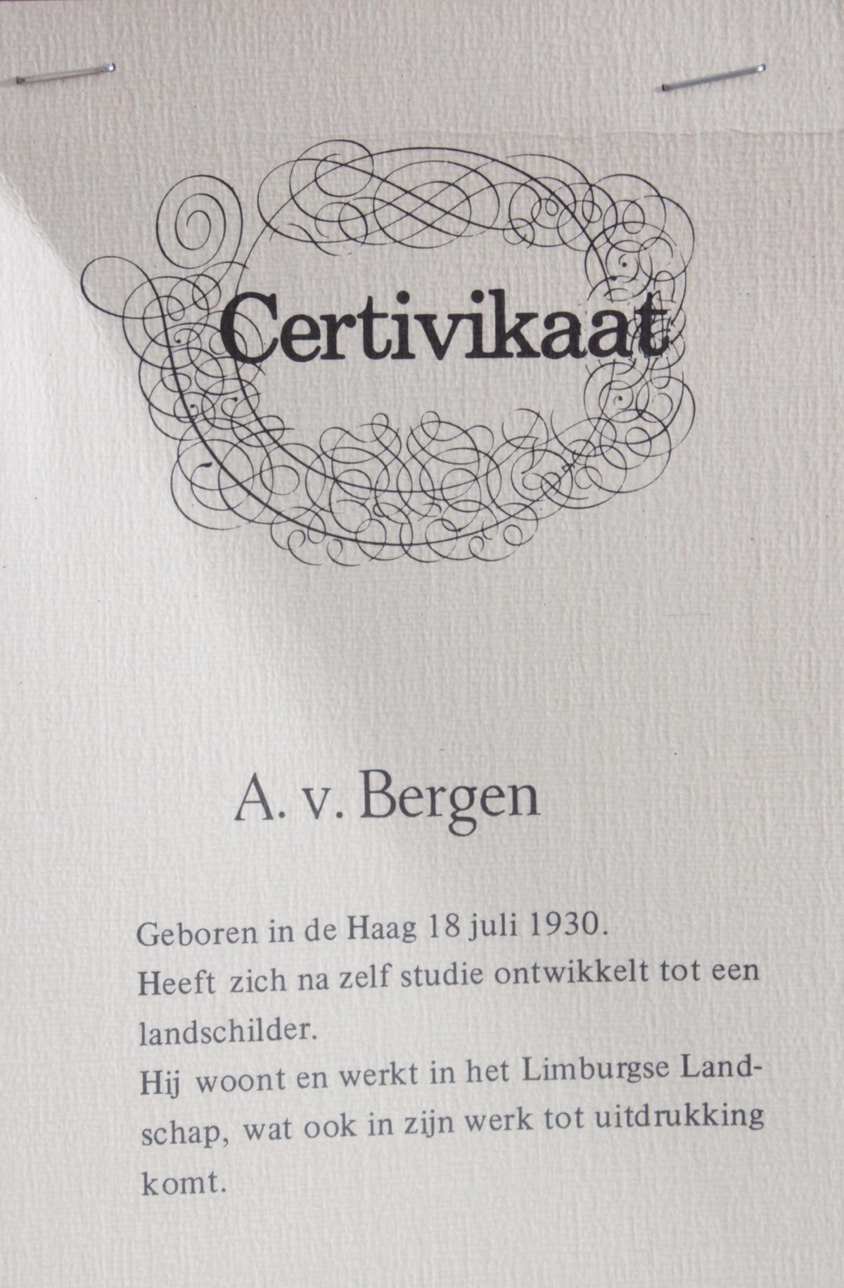 A. v. Bergen (1930 in den Haag)-5