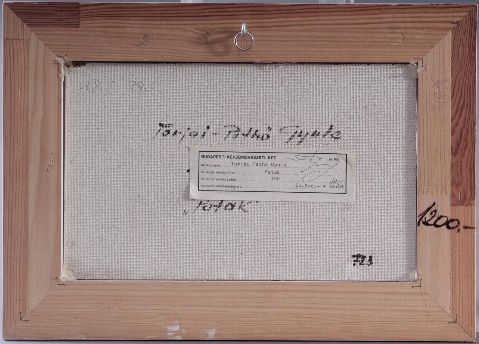 Torjai Pethö Gyula, ungarischer Künstler-4