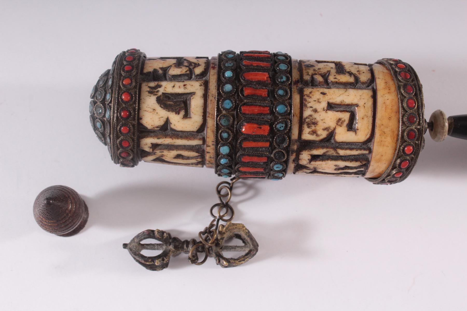 Gebetsmühle – Tibet 19. Jh.-2