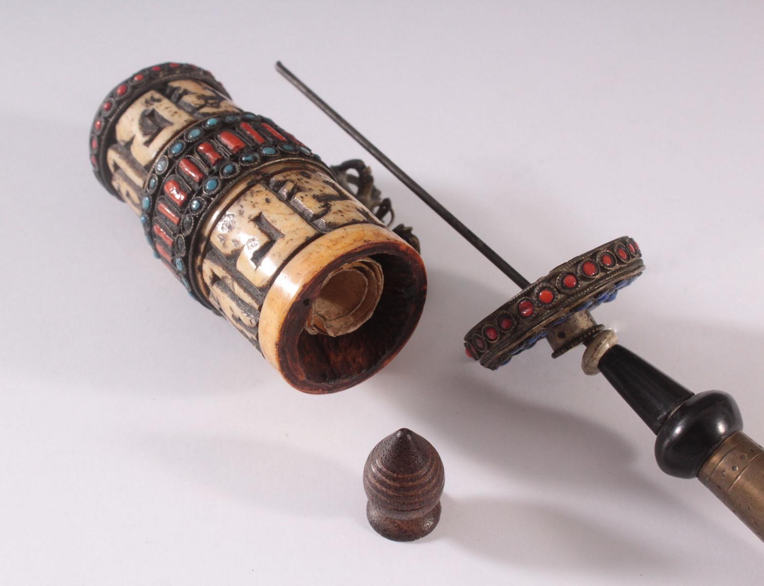 Gebetsmühle – Tibet 19. Jh.-5