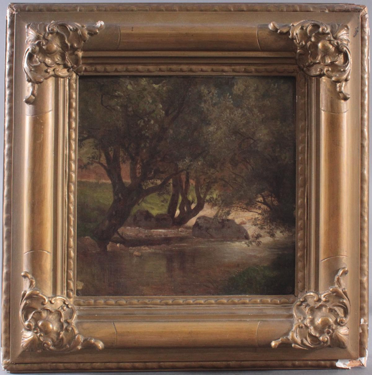Gemälde des 19./20. Jahrhunderts. Unbekannter Künstler