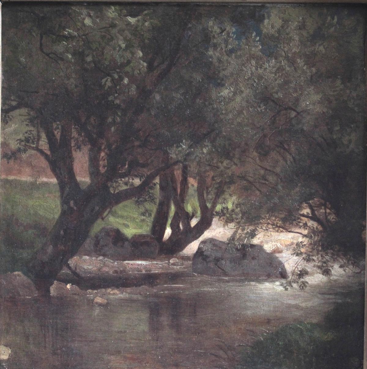 Gemälde des 19./20. Jahrhunderts. Unbekannter Künstler-2