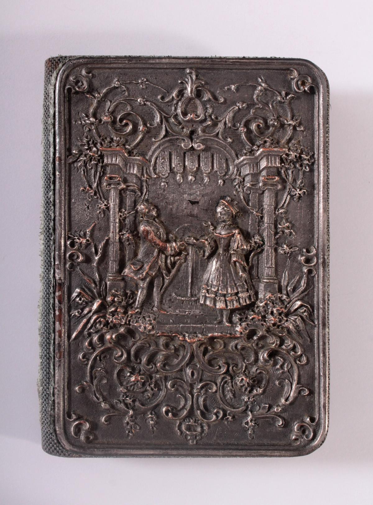 Ballkarten-Etui, 19. Jahrhundert
