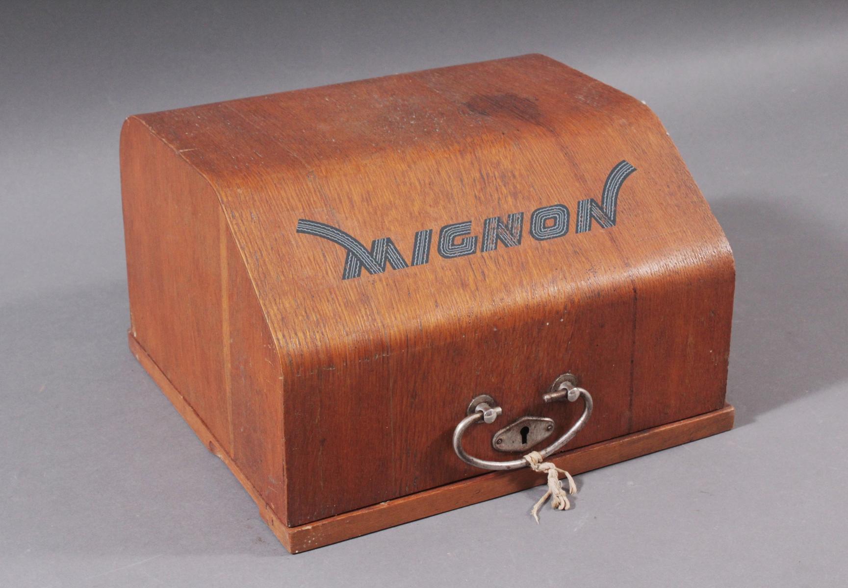 Mignon Schreibmaschine von AEG aus den 1920er Jahren-7