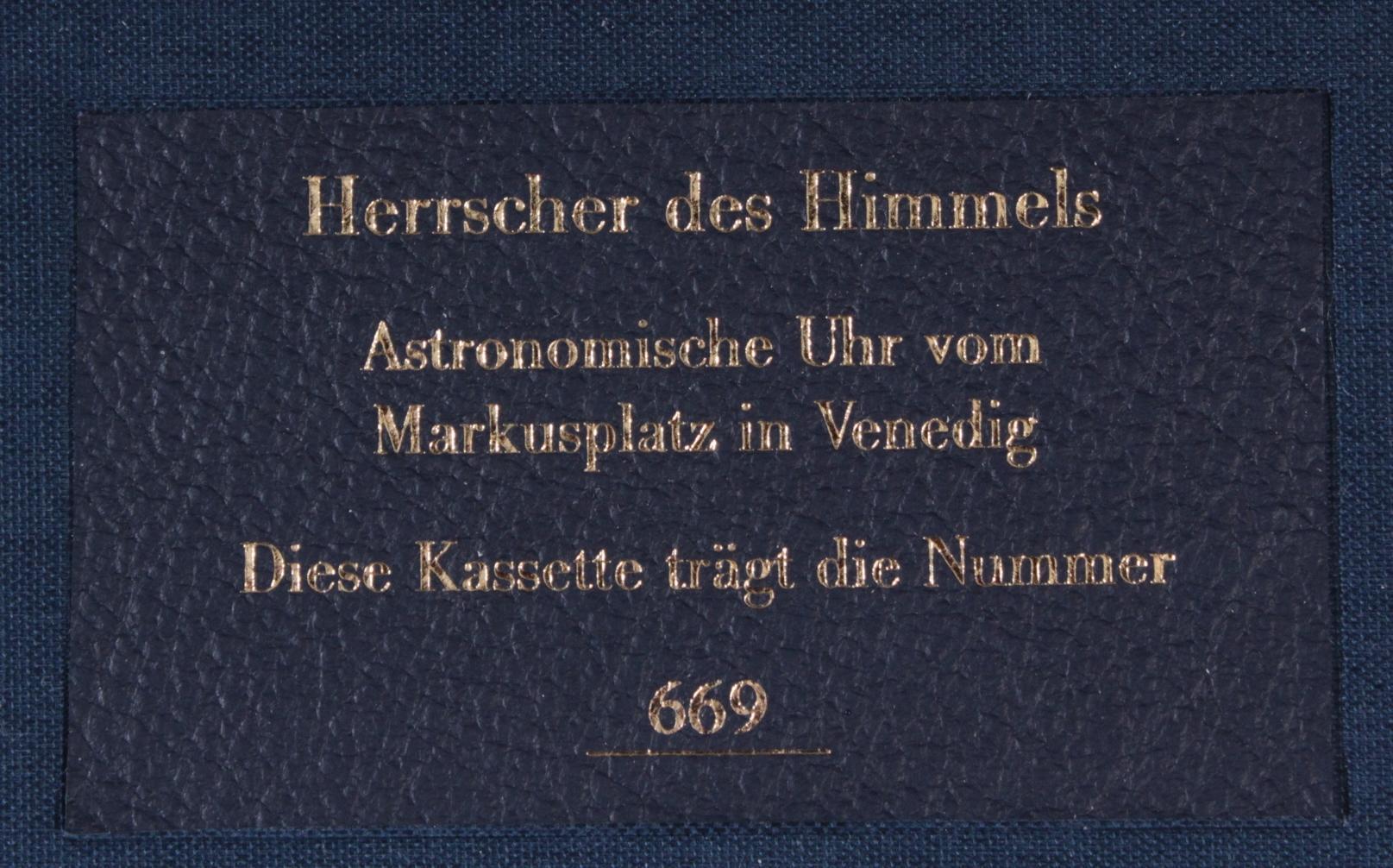 Herrscher des Himmels, Faksimile, Coron Exclusiv Ausgabe-4