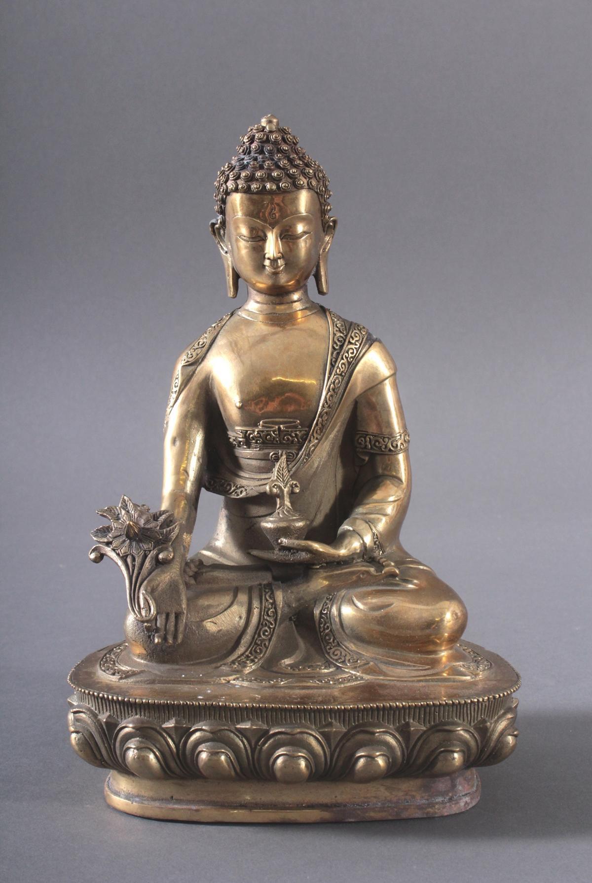 Medizin-Buddha, Indien, 20. Jh.