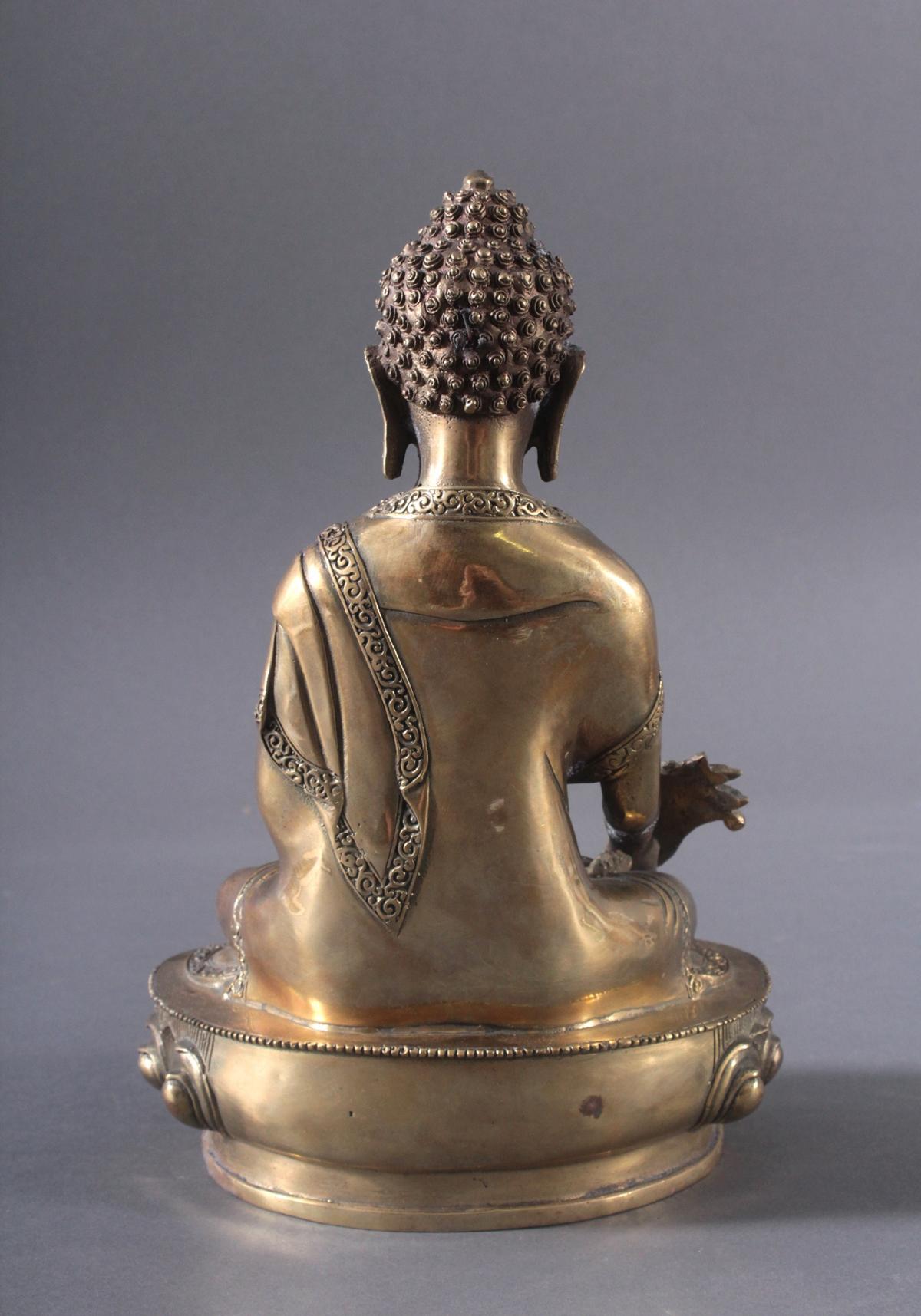 Medizin-Buddha, Indien, 20. Jh.-2