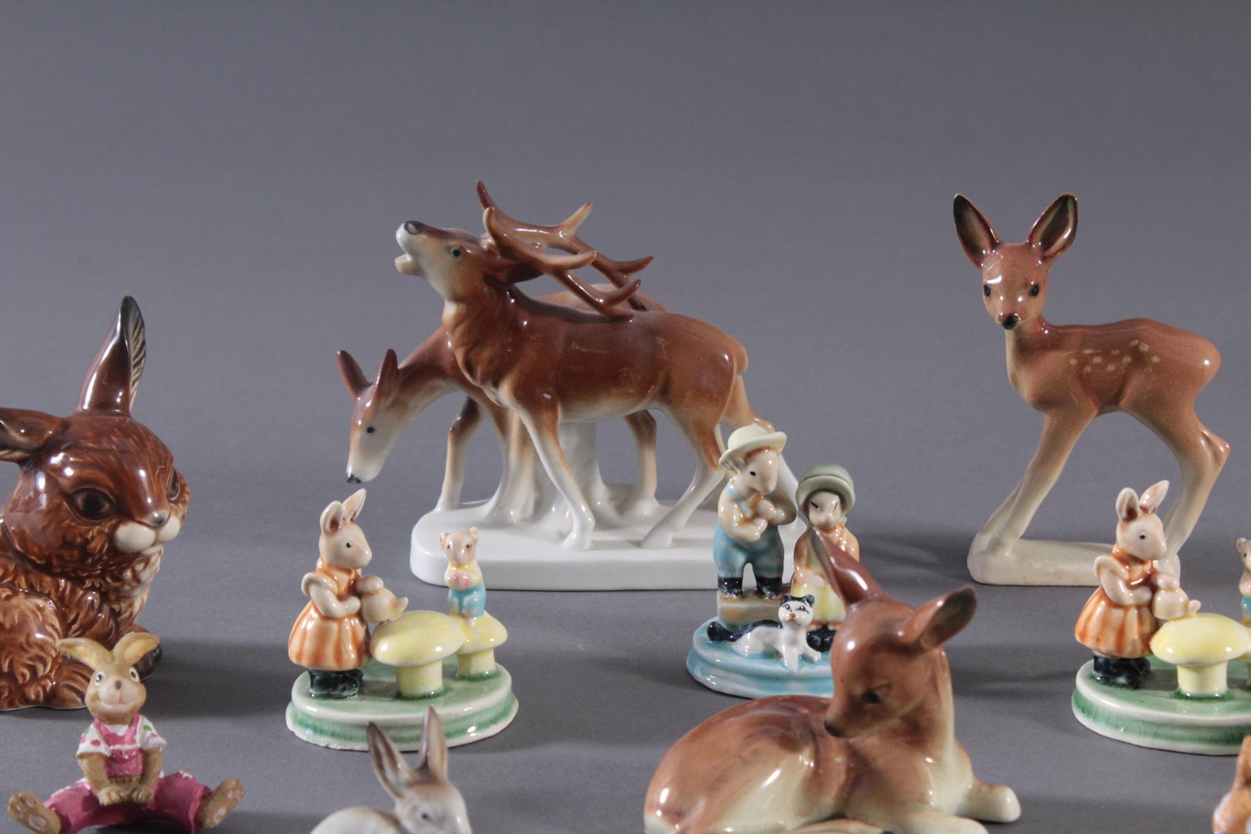 14 diverse Tierfiguren-4
