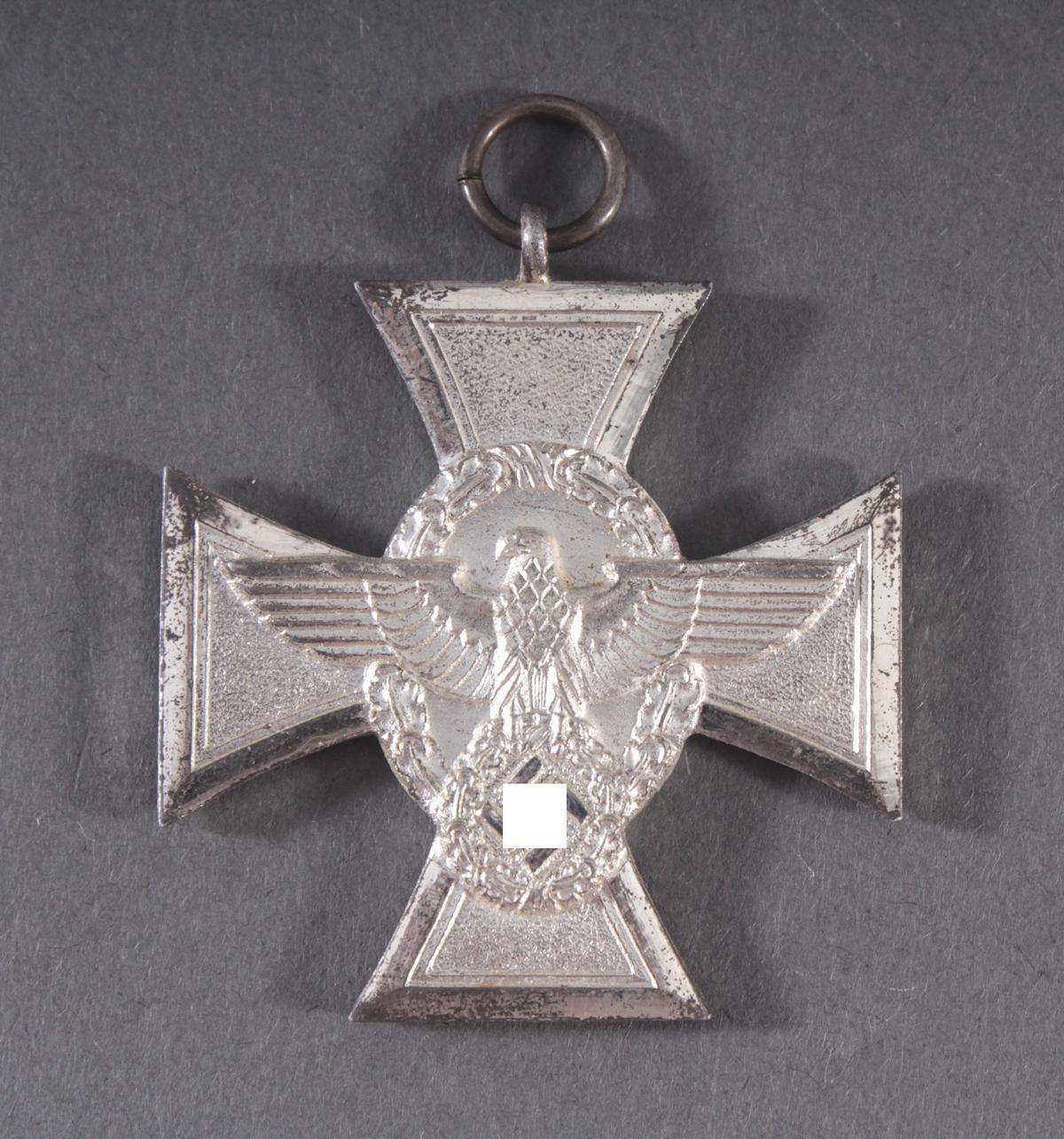Dienstauszeichnung der Polizei Stufe 2 für 18 Jahre 1938