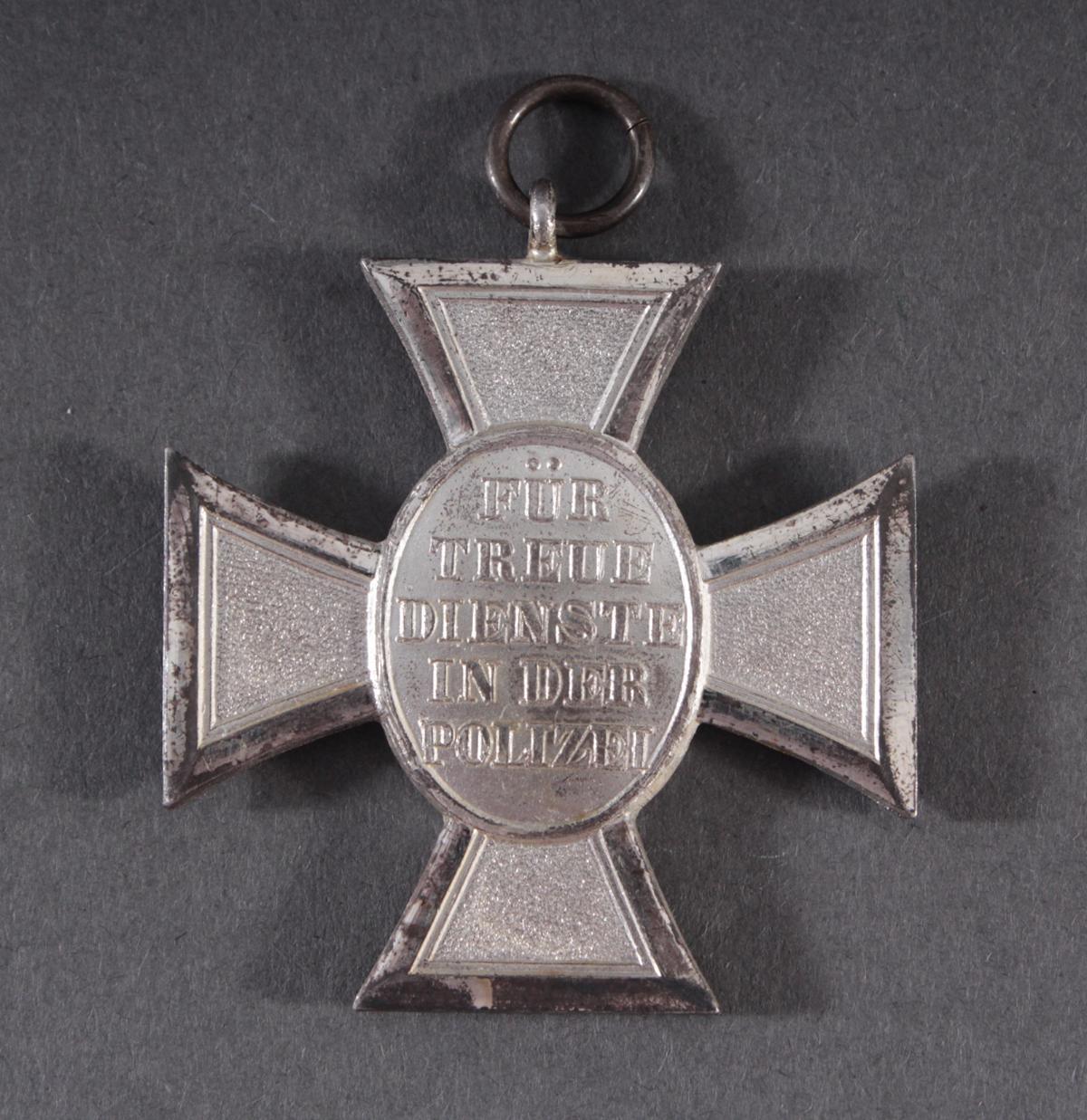 Dienstauszeichnung der Polizei Stufe 2 für 18 Jahre 1938-2