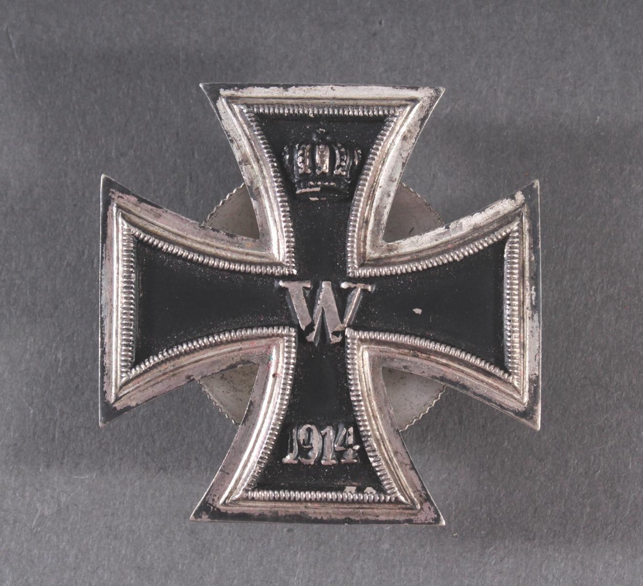 EK 1 1914 mit Schraubscheibe
