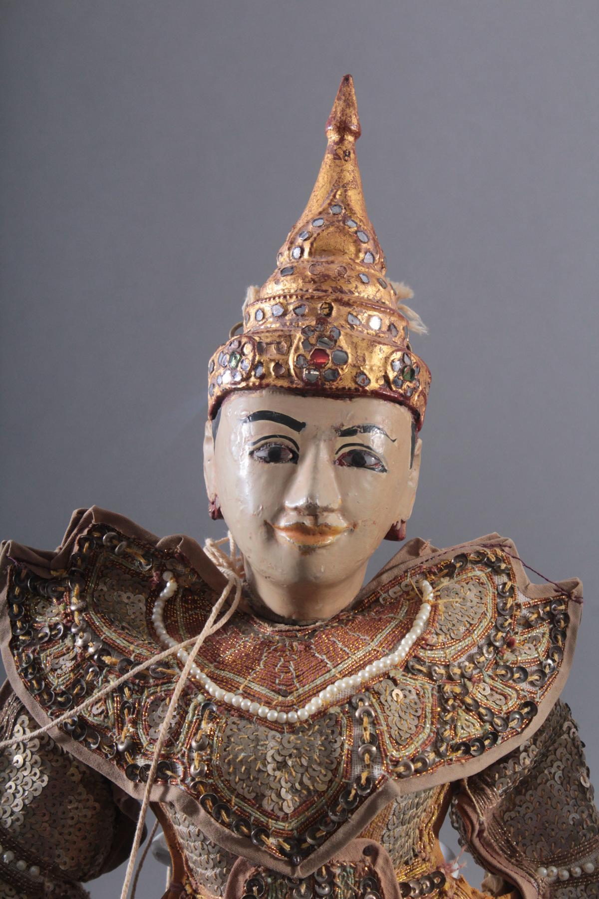 Paar indonesische Marionetten-3