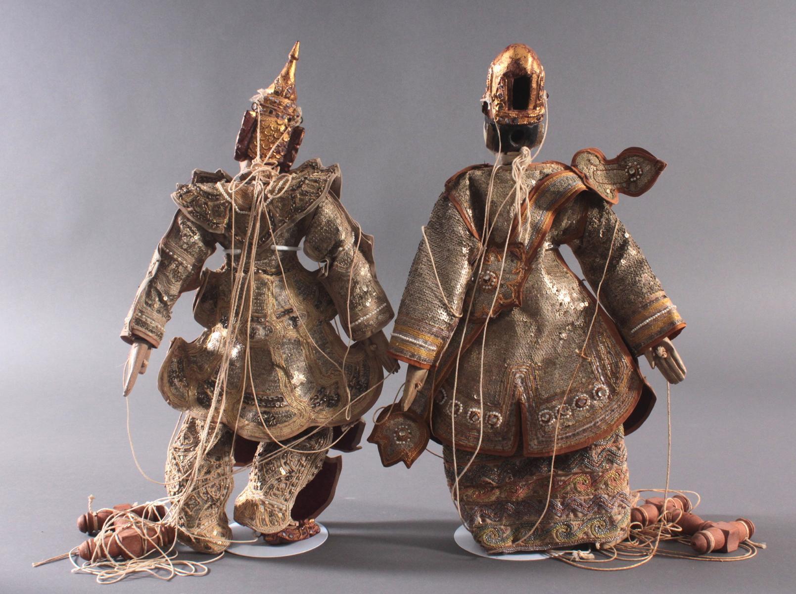 Paar indonesische Marionetten-5