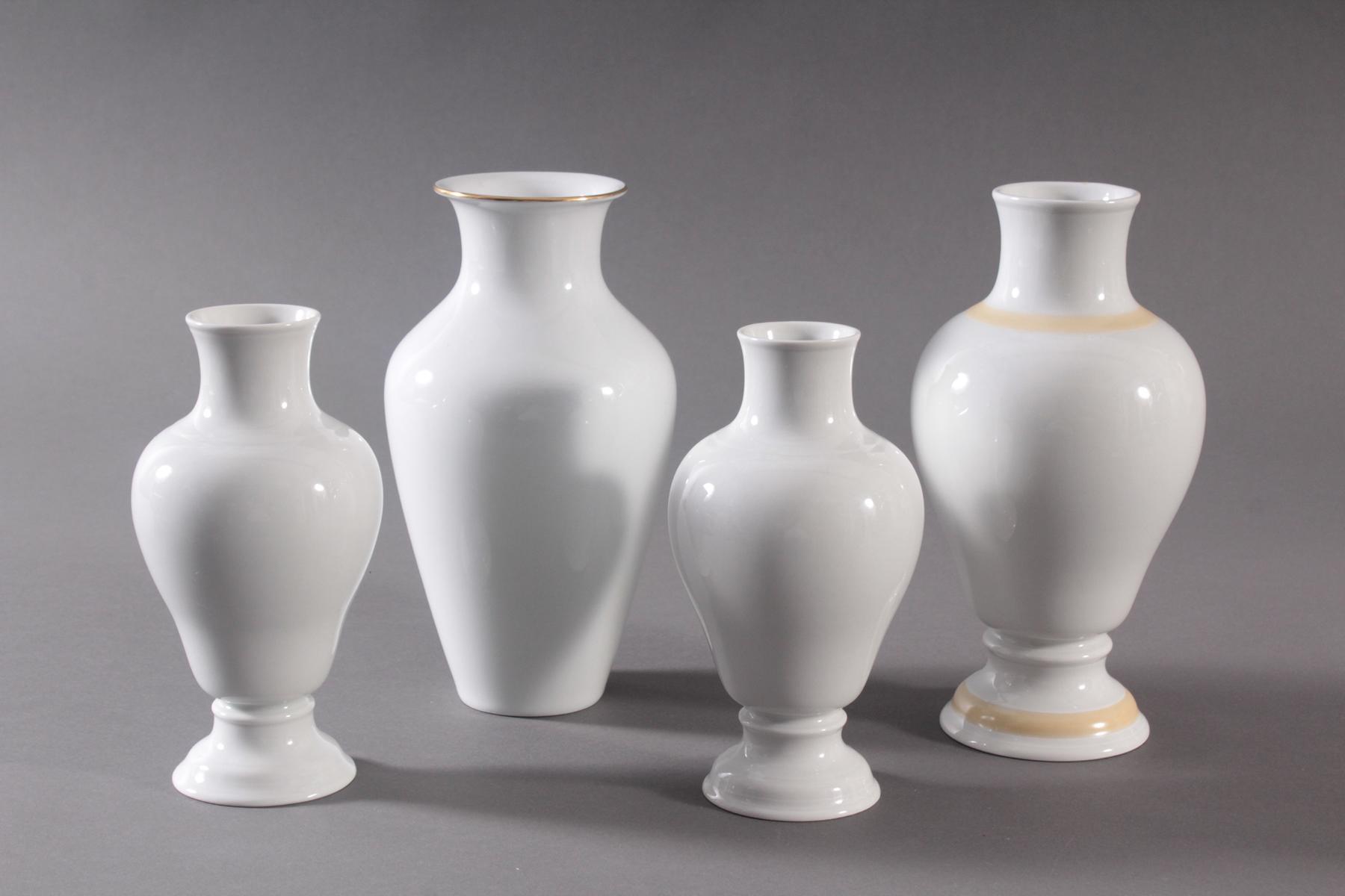 4 Vasen der Manufaktur Höchst-2