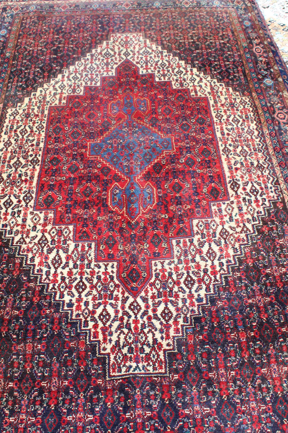 Senneh-Teppich aus West Persien-2