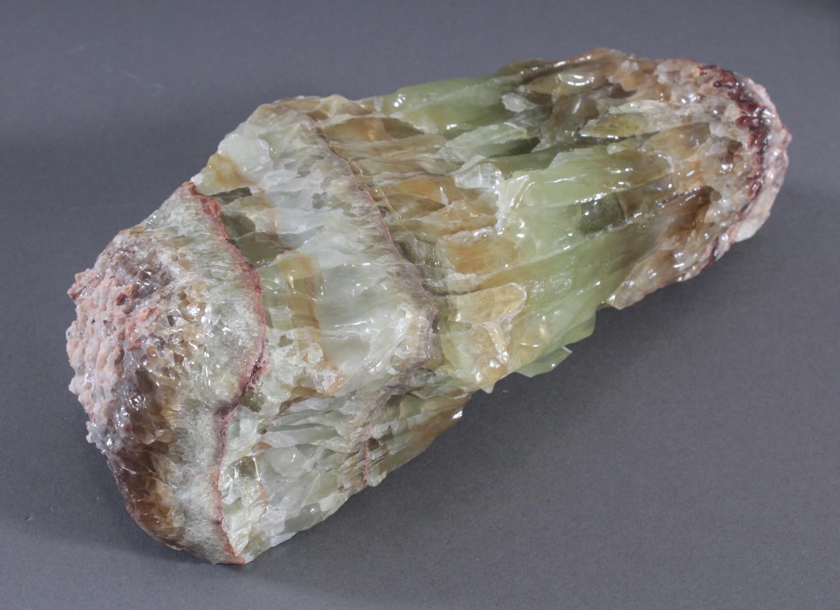 Grüner Kalzit-Stufe, Mexiko-2