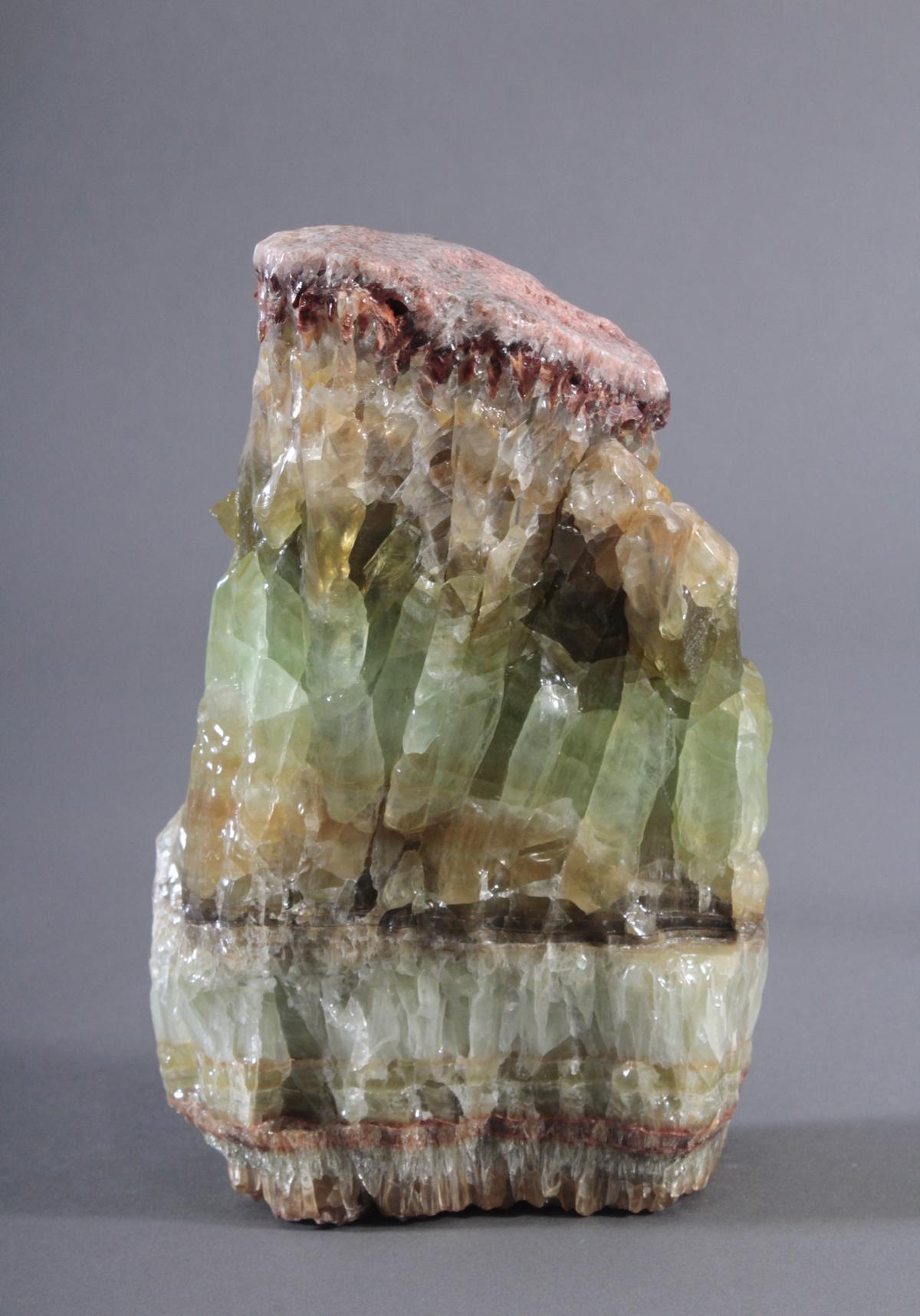 Grüne Kalzit-Stufe, Mexiko