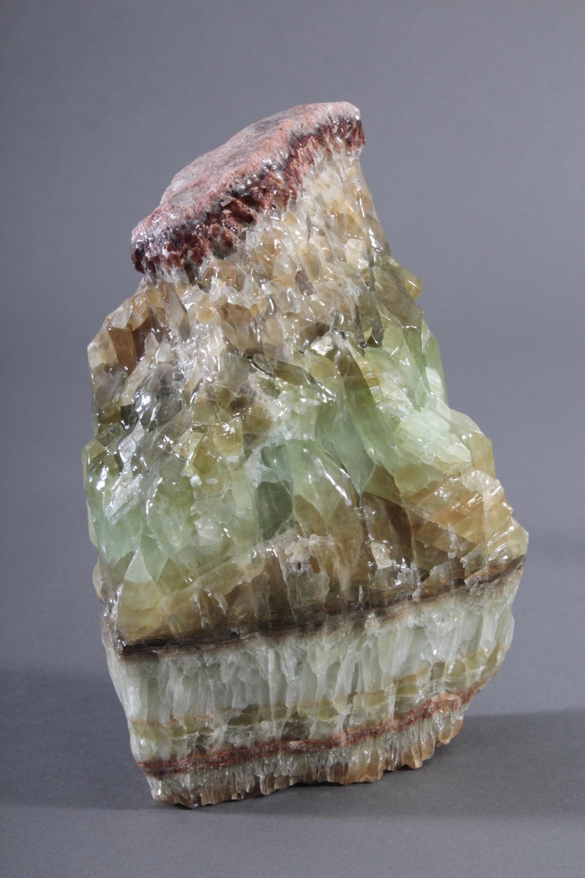 Grüne Kalzit-Stufe, Mexiko-2