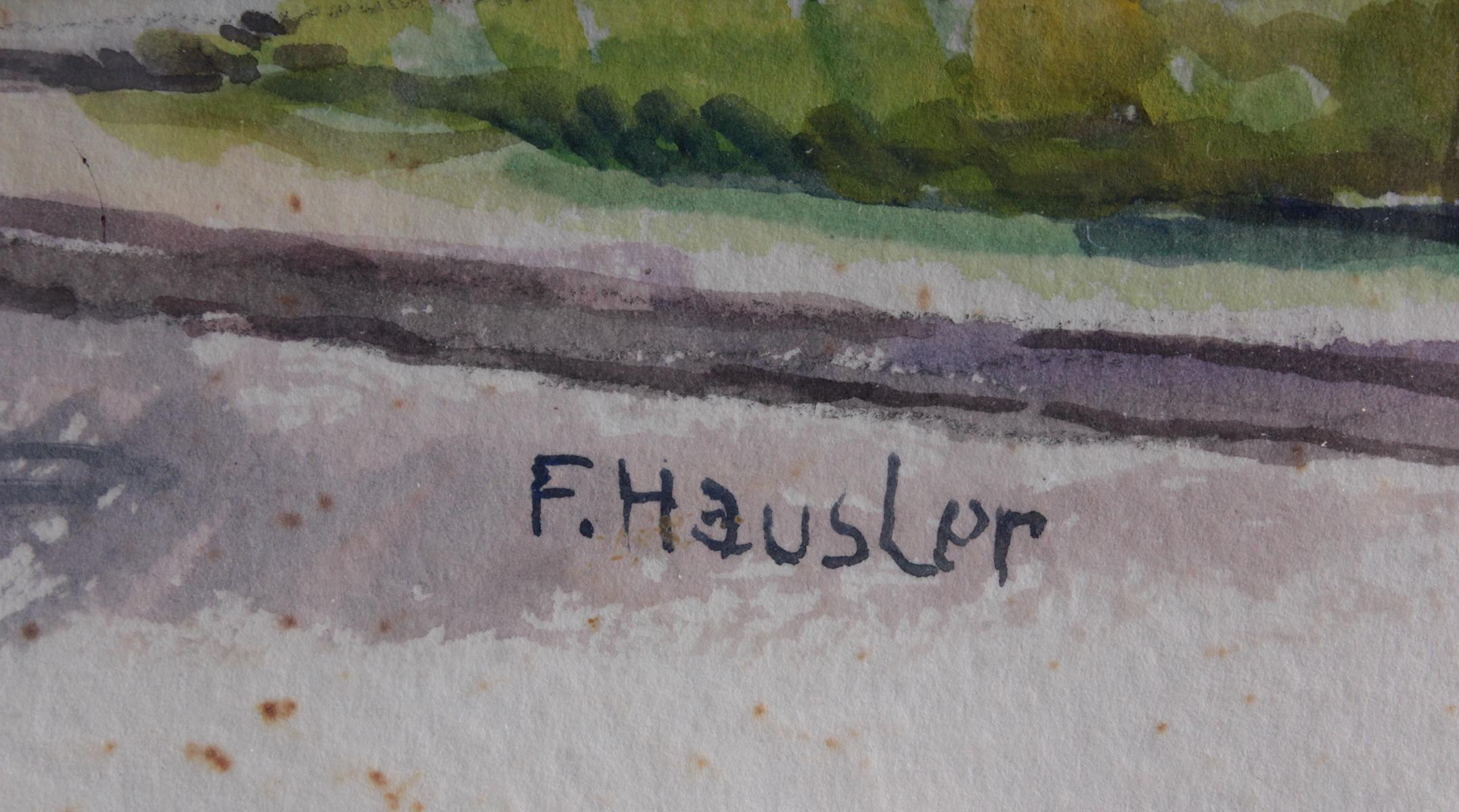 Franz Hausler (1846-1904), 'Windmühle'-3