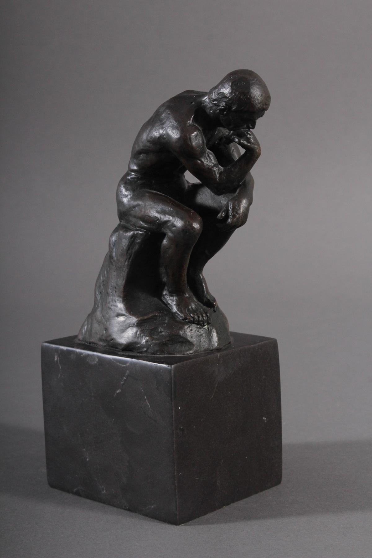 Nach Auguste Rodin (1840 – 1917), 'Der Denker'-2
