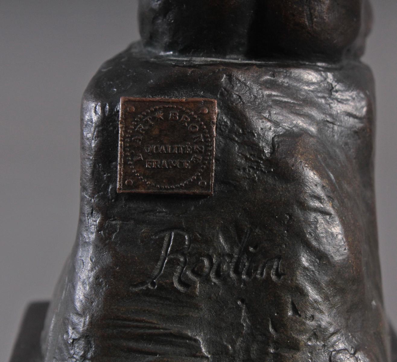 Nach Auguste Rodin (1840 – 1917), 'Der Denker'-5