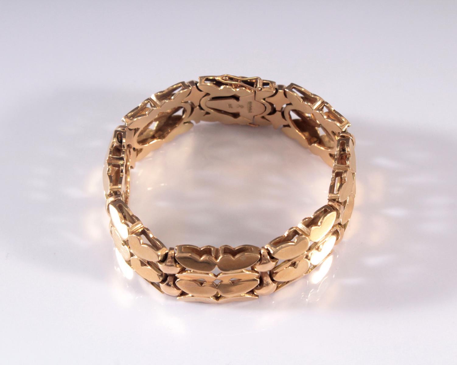 Damenarmband aus 14 Karat Gelbgold-3