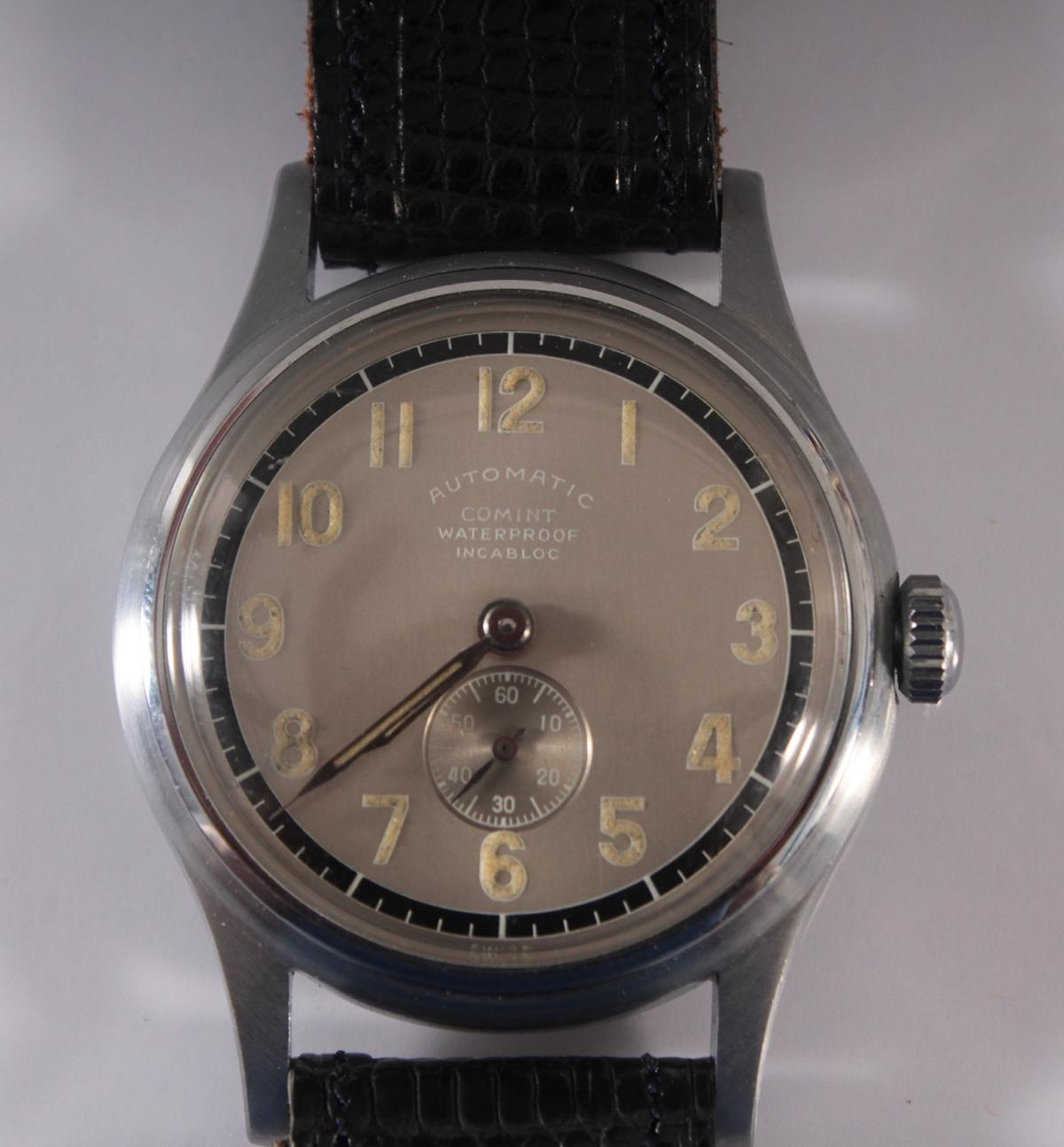 Herrenarmbanduhr der Marke Comint Automatic-2