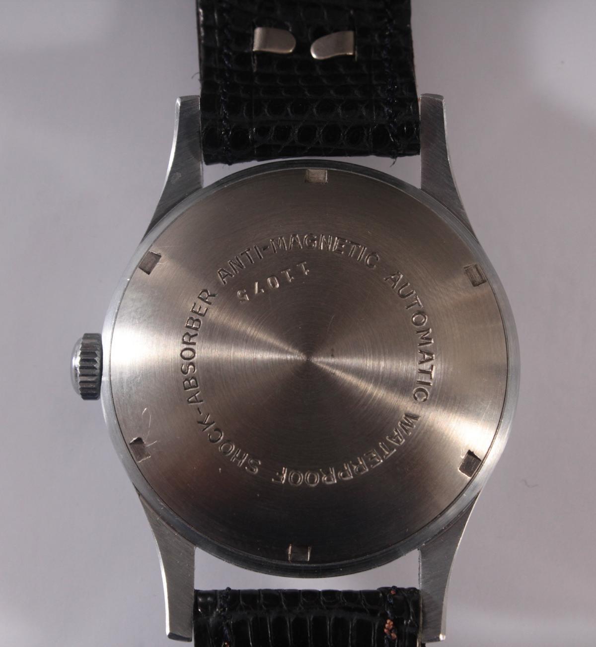 Herrenarmbanduhr der Marke Comint Automatic-4